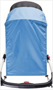 Sun-shade for strollers
