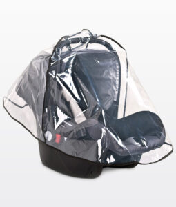 Rain cover for carrier car seats