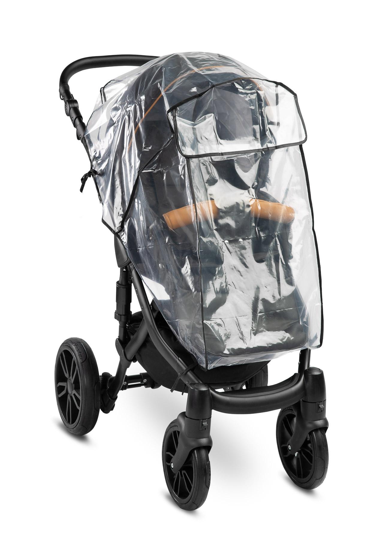 Folia przeciwdeszczowa na wózek