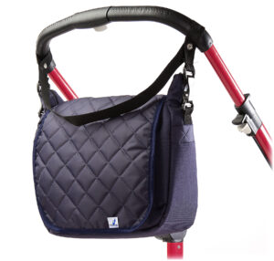 Quilted mama bag for strollers