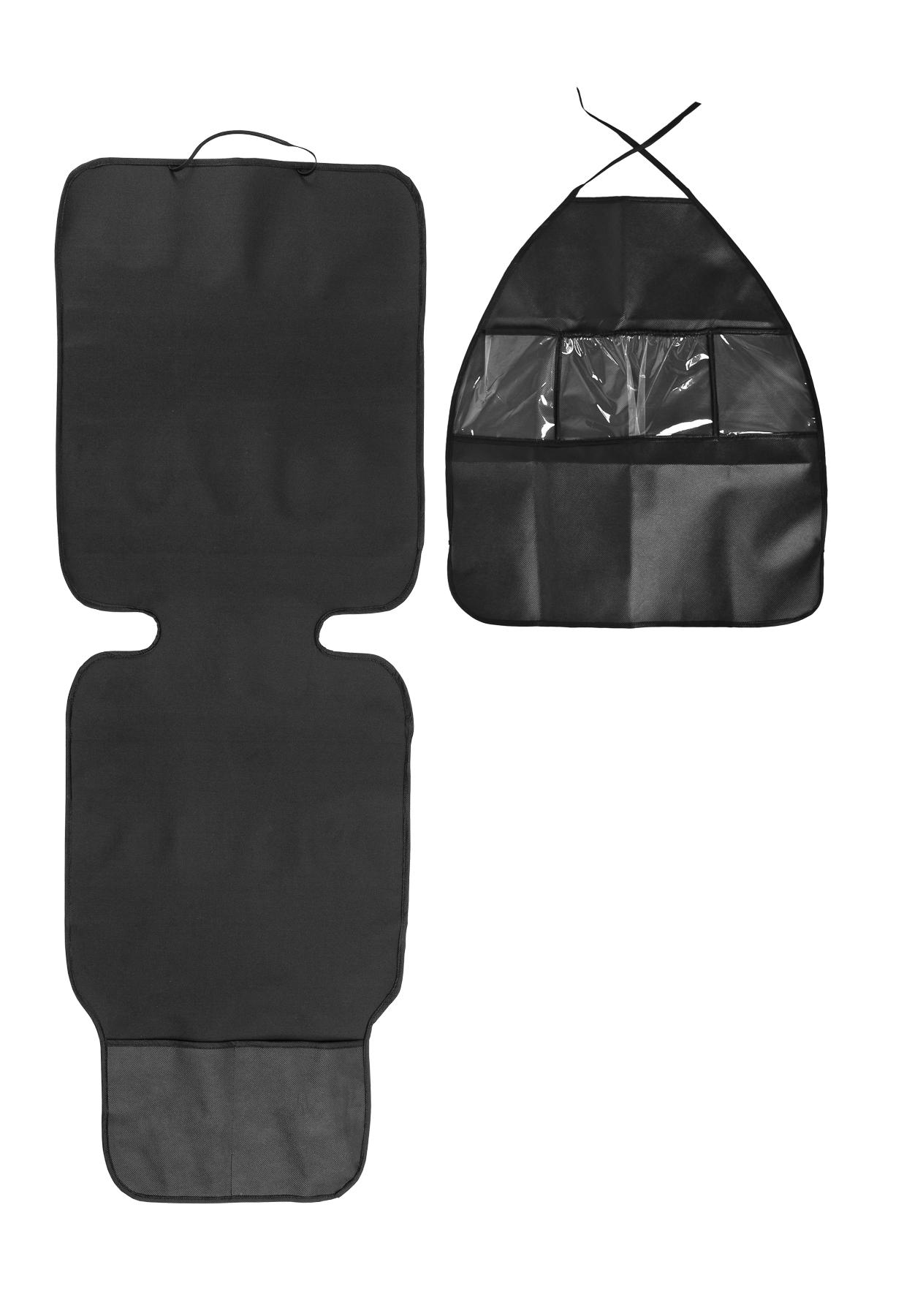 Zestaw 2w1 (mata pod fotelik + organizer na fotel)